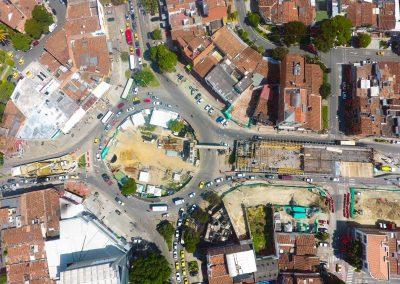 Intercambio vial de la Carrera 80 con Calle 50